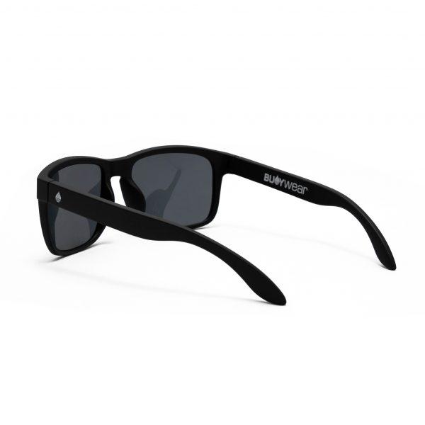 Produktbild Buoy Wear - schwimmende Sonnenbrille, mattschwarz - Seite links hinten