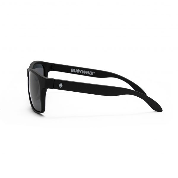 Produktbild Buoy Wear - schwimmende Sonnenbrille, mattschwarz - Seite links